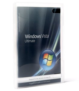 Microsoft: Windows Vista Ultimate 32bit, DSP/SB, 1-pack (German) (PC) (66R-00768) -- © DiTech