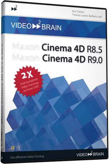 video2brain: Cinema 4D R8.5 & R9.0 (German) (PC/MAC)