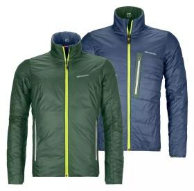 Ortovox Swisswool Piz Boval Jacke green forrest (Herren) (61141)