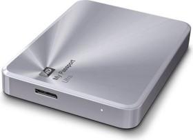 Western Digital WD My Passport Ultra Metal silber, 4TB, USB 3.0 Micro-B (WDBEZW0040BSL)