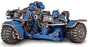Games Workshop Warhammer 40.000 - Space Marines - Attack Bike (99120101030)