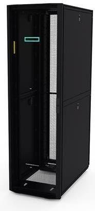 HP Kitted Advanced G2 Shock Rack, 42HE Serverschrank schwarz, 1075mm tief (P9K08A)