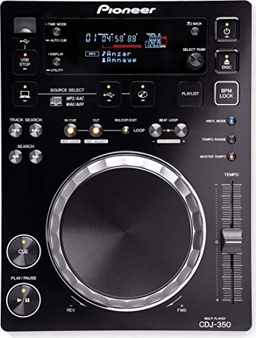 Pioneer CDJ-350 CD turntable -- via Amazon Partnerprogramm