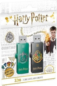 Emtec M730 Harry Potter 2.0 32GB, USB-A 2.0, Hogwarts/Slytherin, 2er-Pack (ECMMD32GM730HP02P2)