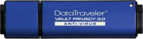 Kingston DataTraveler Vault Privacy 3.0 - Anti-Virus 64GB, USB-A 3.0 (DTVP30AV/64GB)