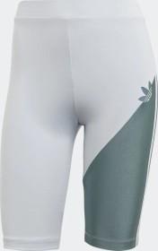 adidas Adicolor Sliced Trefoil cycling shorts short halo blue/hazy emerald (ladies) (GN2799)
