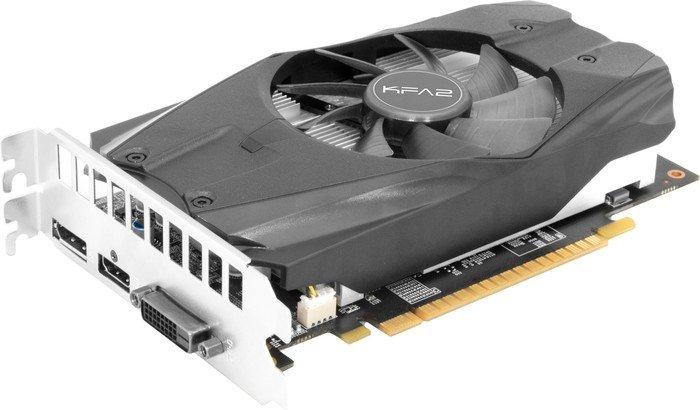 KFA² GeForce GTX 1050 Ti OC, 4GB GDDR5, DVI, HDMI, DisplayPort (50IQH8DSN8OK)