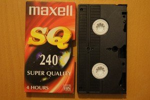Maxell VHS/S-VHS cassette (various types) -- provided by bepixelung.org - see http://bepixelung.org/9572 for copyright and usage information
