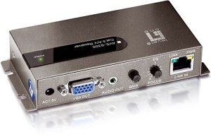 Level One AVE-9300, 1-port Cat.5 A/V-receiver