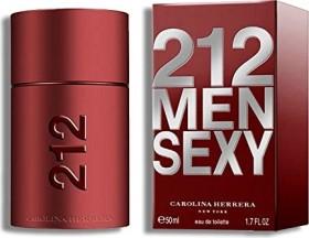 Carolina Herrera 212 Sexy Men Eau De Toilette, 50ml