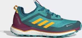 adidas Terrex Agravic Flow GTX hi-res aqua/solar gold/power berry (Damen) (FV2483)