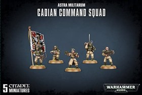 Games Workshop Warhammer 40.000 - Astra Militarum - Cadian Command Squad (99120105078)