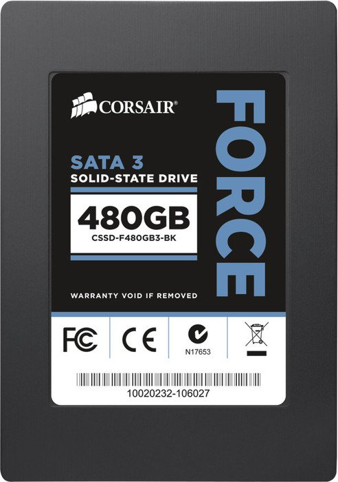 Corsair Force 3 F480 480GB, SATA (CSSD-F480GB3-BK)
