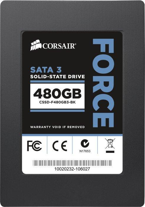 Corsair Force 3 F480 480GB, SATA (CSSD-F480GB3-BK)