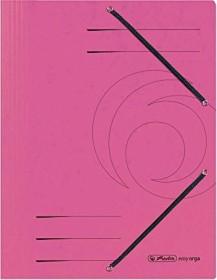 Herlitz Einschlagmappe Colorspan A4, fuchsia (11199510)