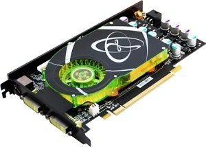 XFX GeForce 8600 GTS,  512MB DDR3, 2x DVI, TV-out, PCIe (PV-T84G-YDQ3)