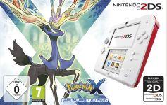 Nintendo 2DS Pokémon X Bundle weiß/rot