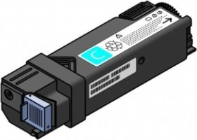 Compatible toner to Epson S050036/Konica Minolta 1710471-004 cyan