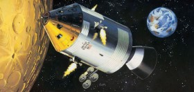 Revell Apollo 11 Spacecraft with Interior (03703)