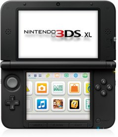 Nintendo 3DS XL Basic unit, black (various bundles) (DS)