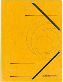 Herlitz Einschlagmappe Colorspan A4, gelb (10843886)