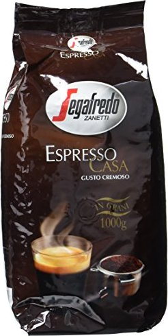 Segafredo Zanetti Espresso Casa coffee beans, 1000g -- via Amazon Partnerprogramm