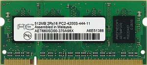 Aeneon SO-DIMM 512MB PC2-5300S CL4 (DDR2-667) (AET660SD00-30D)
