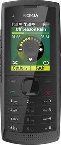 Nokia X1-01 dark grey