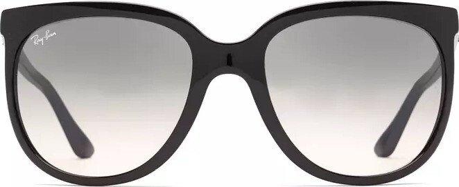 RAY BAN RAY-BAN Damen Sonnenbrille »CATS 1000 RB4126«, schwarz, 601/32 - schwarz/grau