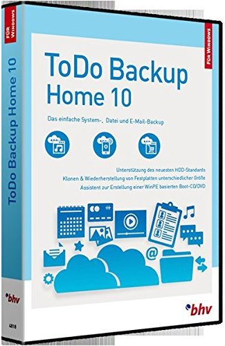 EaseUS: Todo backup Home, ESD (niemiecki) (PC) -- via Amazon Partnerprogramm