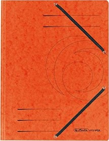 Herlitz Einschlagmappe Colorspan A4, orange (10843878)
