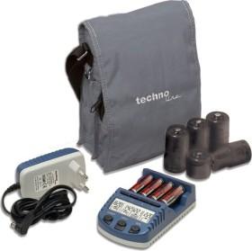 TECHNOLINE Ladegerät BC1000 mit 4 NiMH Akkus