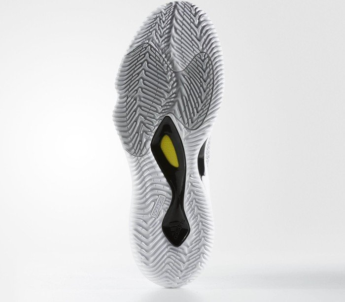 34e03604ae49 adidas Crazy Hustle footwear white silver metallic solid grey (men) (BW0559)