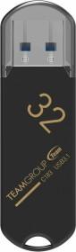 TeamGroup C183 schwarz 32GB, USB-A 3.0 (TC183332GB01)