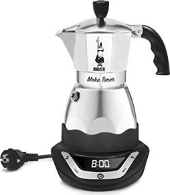 Bialetti Easy Timer Espressokanne