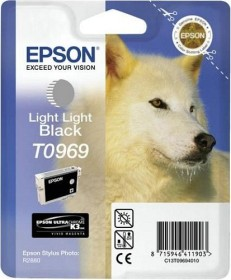 Epson Tinte T0969 schwarz hell hell (T09694010)