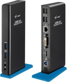 i-tec USB 3.0 Dual Docking Station (U3HDMIDVIDOCK)