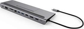 i-tec USB-C 3.0 Metal low profile 4K Triple display, Port replicator (C31FLATDOCKPDPLUS)