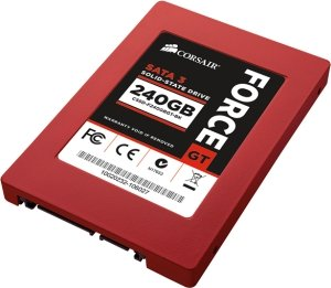 "Corsair Force Series GT 480GB, 2.5"", SATA 6Gb/s (CSSD-F480GBGT-BK)"