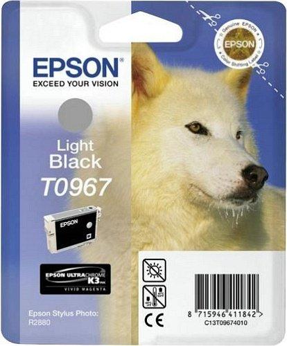 Epson T0967 Tinte schwarz hell (T09674010)
