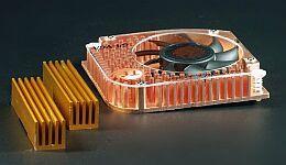 Thermaltake GeForce4 miedź Chipset-Cooler, 5500 obr./min, 18m³/h, 29dB(A) (A1349) -- © CWsoft