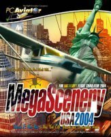 Flight Simulator 2004 - MegaScenery USA Vol.2 (Add-on) (German) (PC)