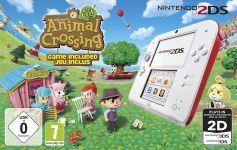 Nintendo 2DS Animal Crossing: New Leaf Bundle weiß/rot