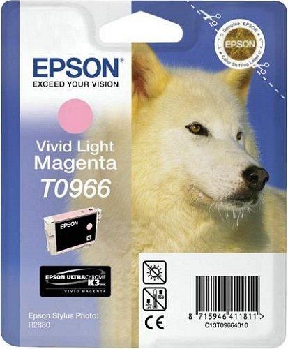 Epson T0966 tusz purpurowy jasny (T09664010)