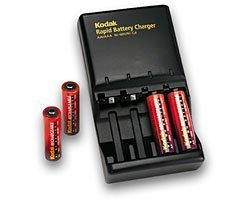 Kodak EasyShare 1999242 quick charger with AA-batteries