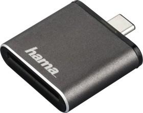 Hama UHS-II OTG Single-Slot-Cardreader, USB-C 3.0 [Stecker] (00124186)