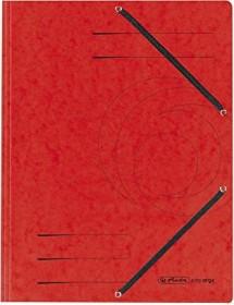 Herlitz Einschlagmappe Colorspan A4, rot (10843902)