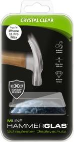 MLine Crystal Clear Hammerglas für Apple iPhone 11 Pro Max (MH0059)