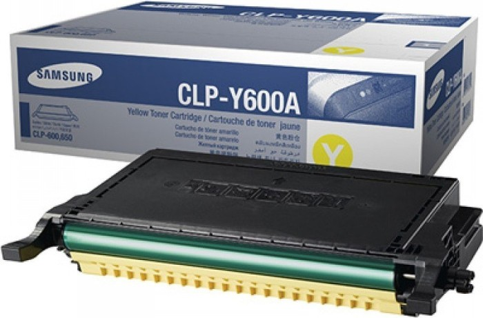 Samsung CLP-Y600A Toner gelb -- via Amazon Partnerprogramm