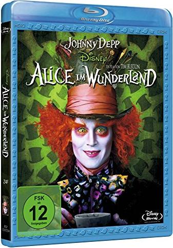 Alice im Wunderland (2010) (Blu-ray) -- via Amazon Partnerprogramm